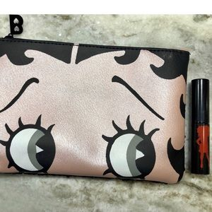 Limited Edition Betty Bop Pouch and Mascara